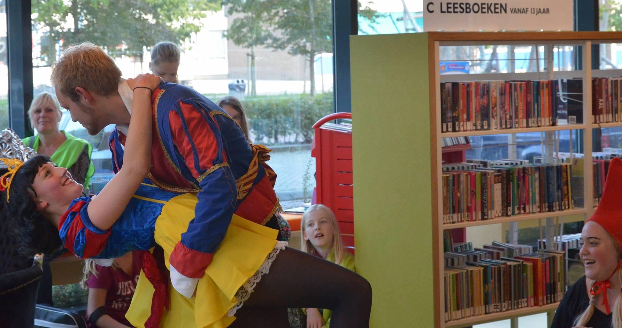 Kindertheater Bibliotheek Hoogkerk