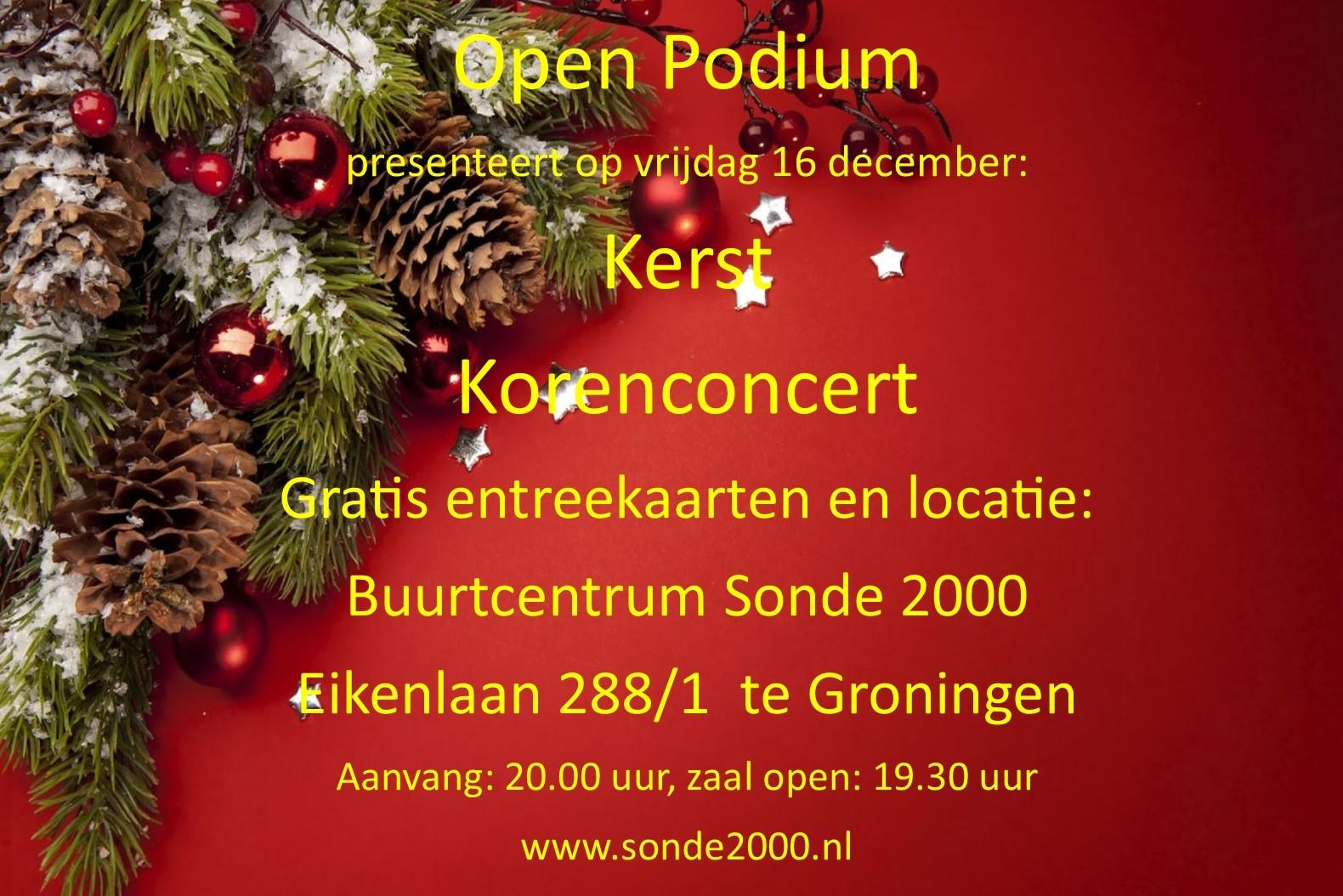 Kerstkoren concert